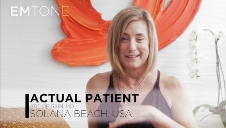 BTL Aesthetics Emtone patient testimonial
