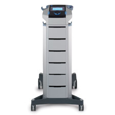 BTL-4000_Premium_on_trolley_with_holder_for_laser_magnetotherapy