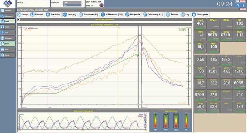 Pulmonary-data-recording