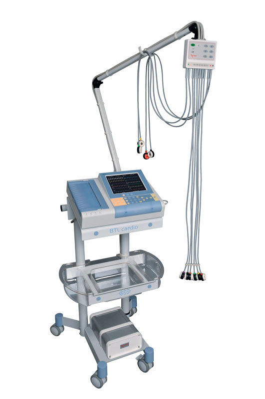BTL-08-LC_Trolley-for-L-Line-with-ECG-and-Vacuum-
