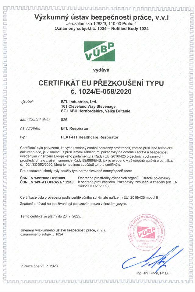 BTL_Gal_Respirator_FLAT-FIT_certifikat_640x960